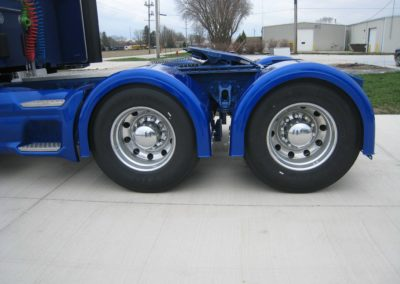 Single-Axle Fender Mid Trim