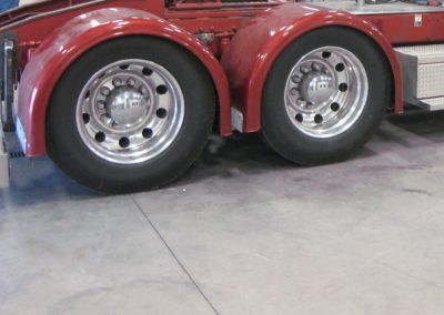 Single-Axle Fender Small Trim